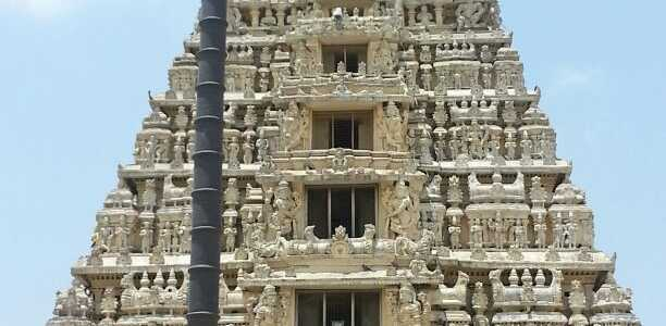 Religious trip in South India with family