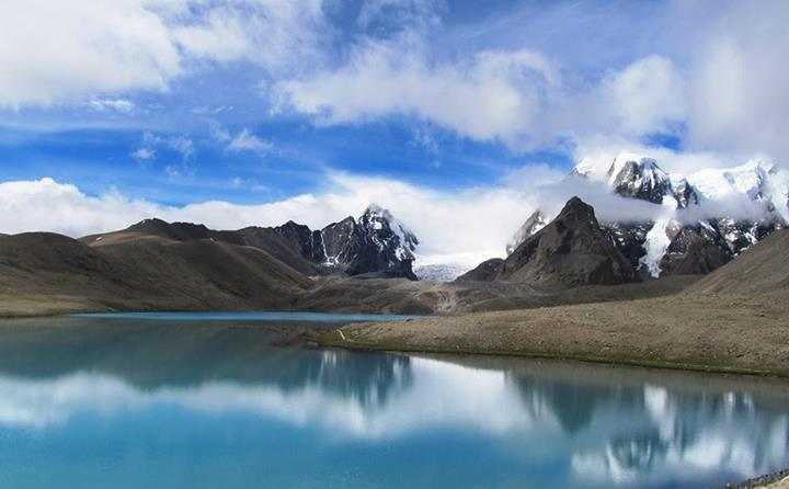 Gurudongmar Lake, most surreal places in India