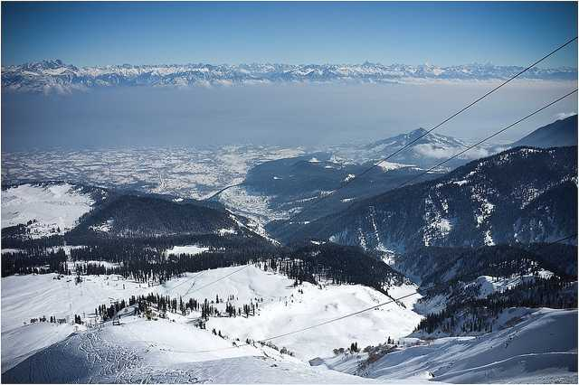 gulmarg, Places to visit in India in february