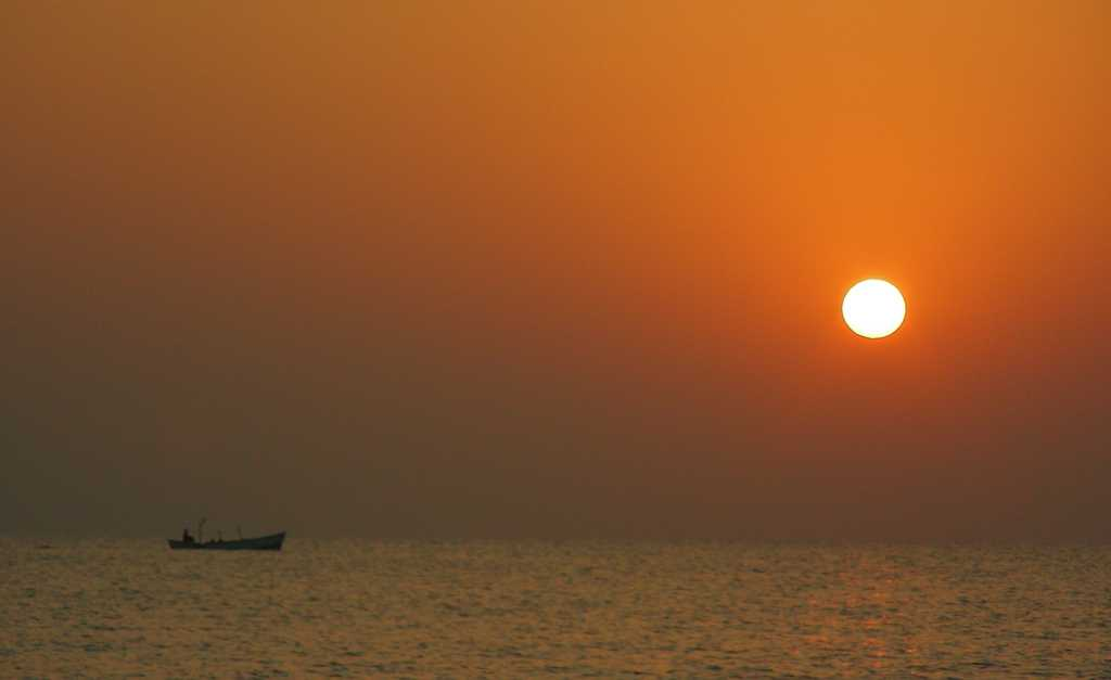 Diu beach, Places to visit in India in february