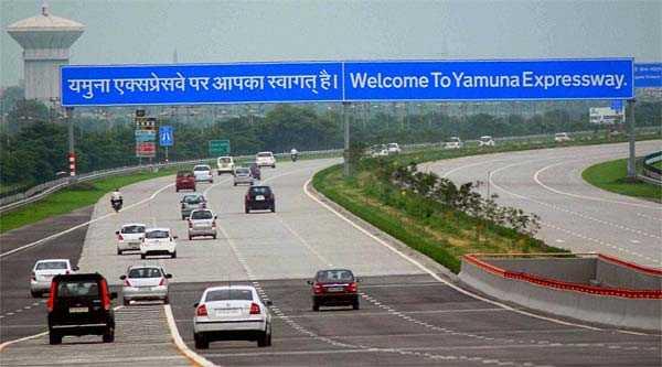 Yamuna Expressway, road trip from Delhi