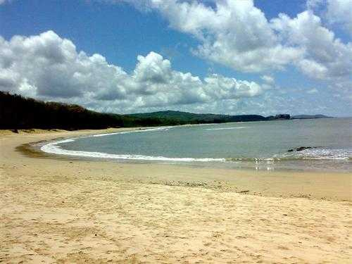 alibaug beach white sand