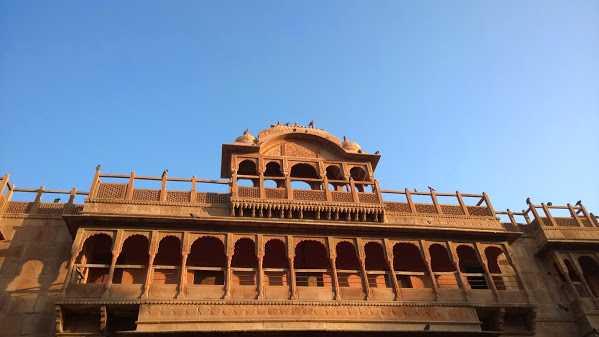 Decorated gates in Bikaner, Rajasthan