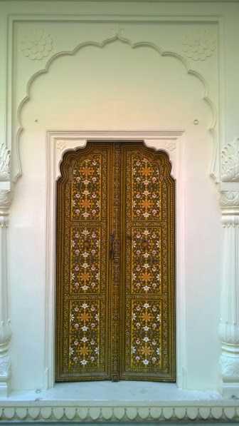 Decorative Gate in Rajasthan