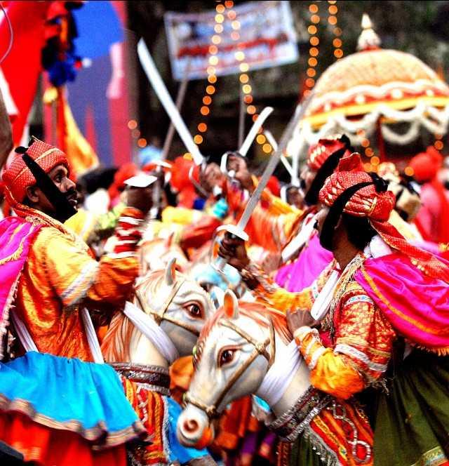 FESTIVAL-SHIGMO-PARADE_a-640x664, Goa: Shigmo festival dance photo