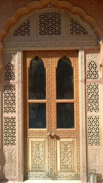 beautiful gates of Rajasthan