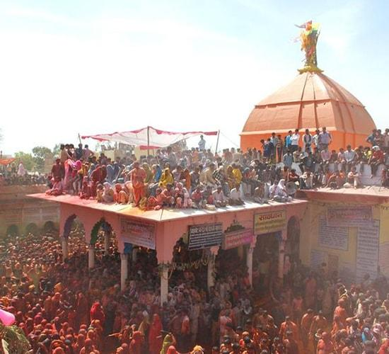 Dauji Temple, Huranga, Holi in Mathura