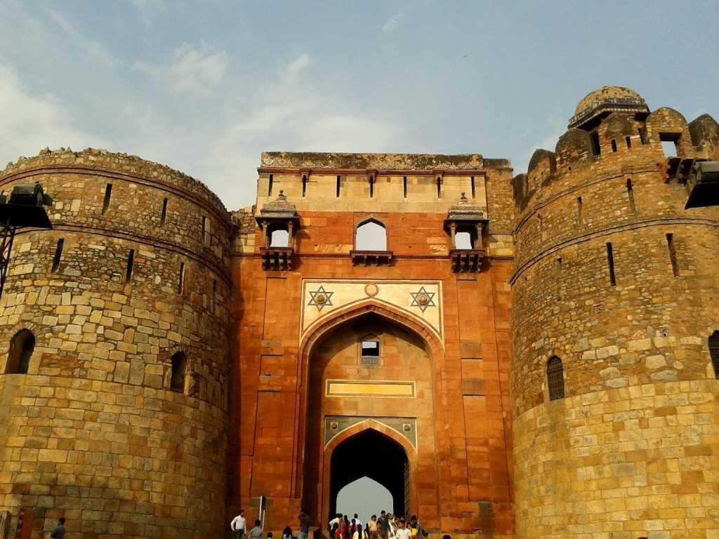 Entrance to the Purana Quila, Delhi