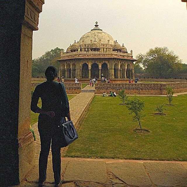 Isa Khan's Tomb, Delhi : Tomb in Nizamuddin