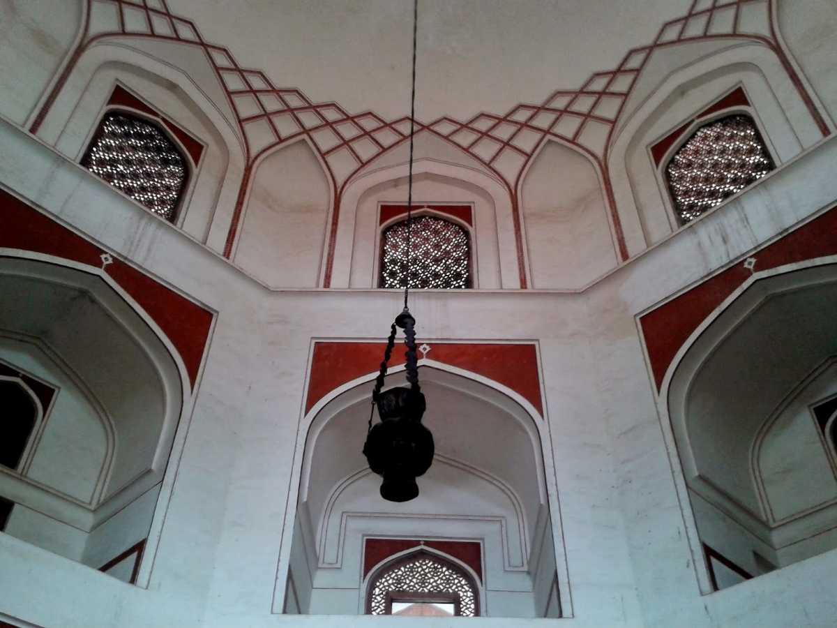 Dome of Humayun's Tomb, Delhi: Architecture