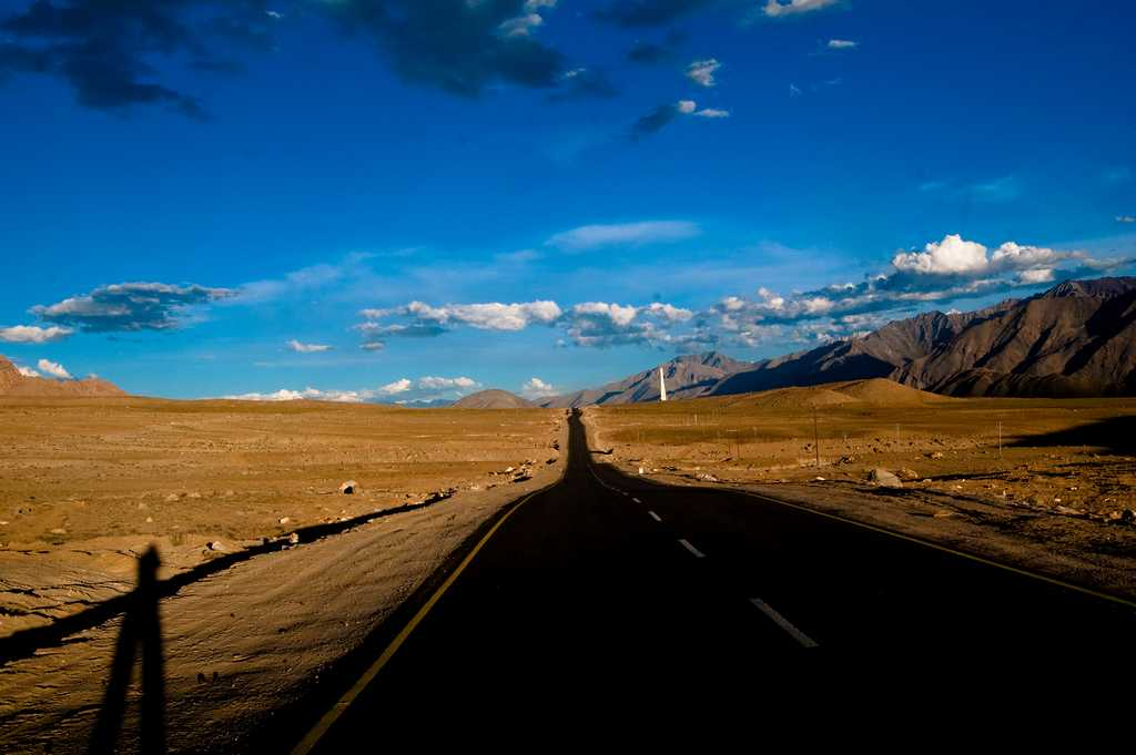 This road from Kargil to Leh