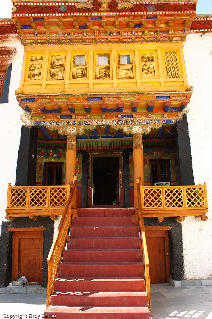 Likir Minastery Door, Places to visit in Leh Ladakh