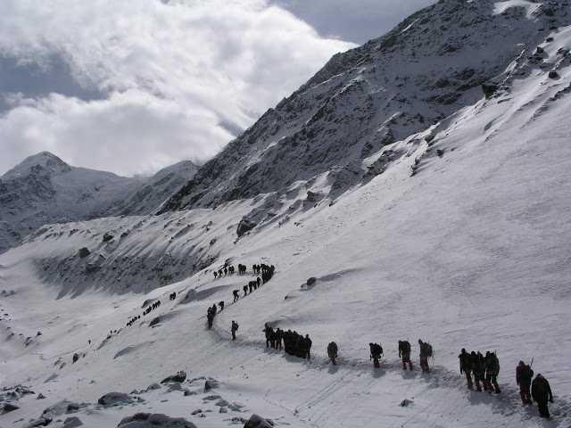 trekking in Himalayas, Nehru Institute of Mountaineering