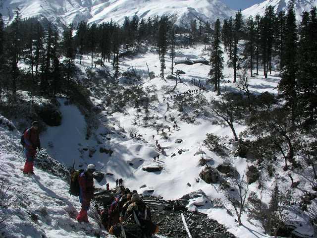 Practice area, Nehru Institute of Mountaineering