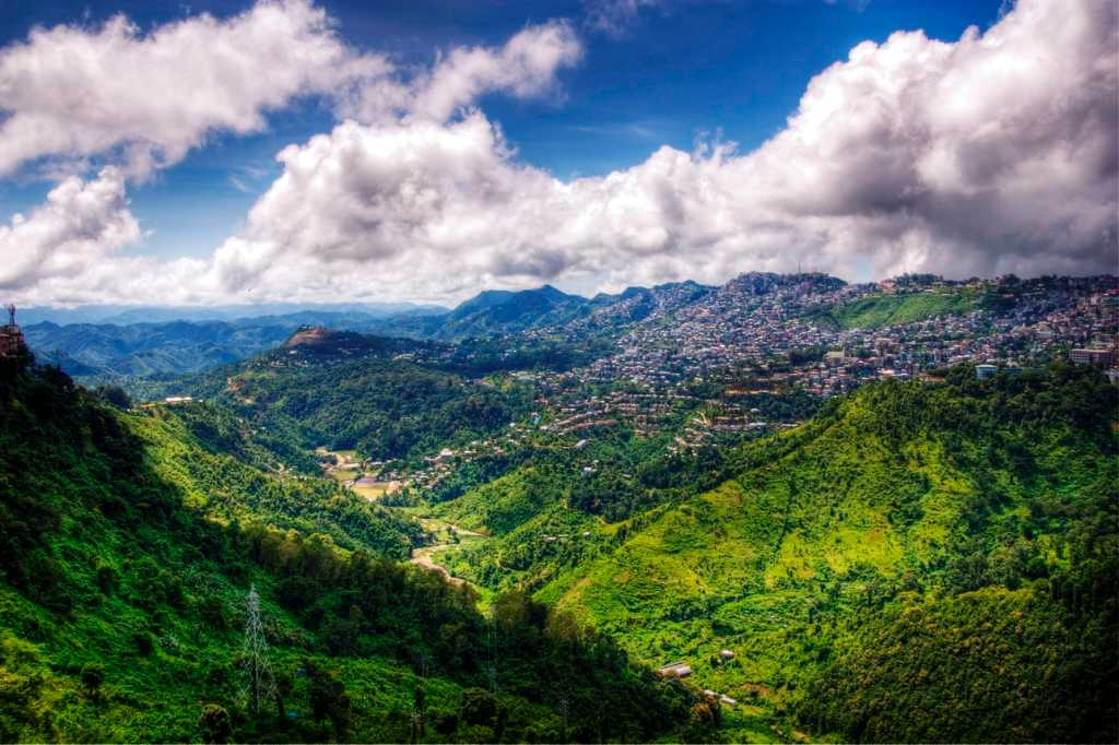 Aizawl, places to visit in June in India
