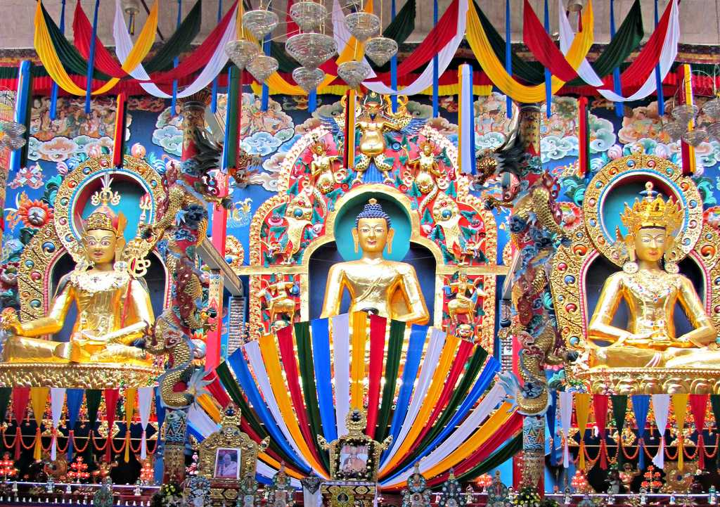 Namdroling Monastery, Buddhist sites in India