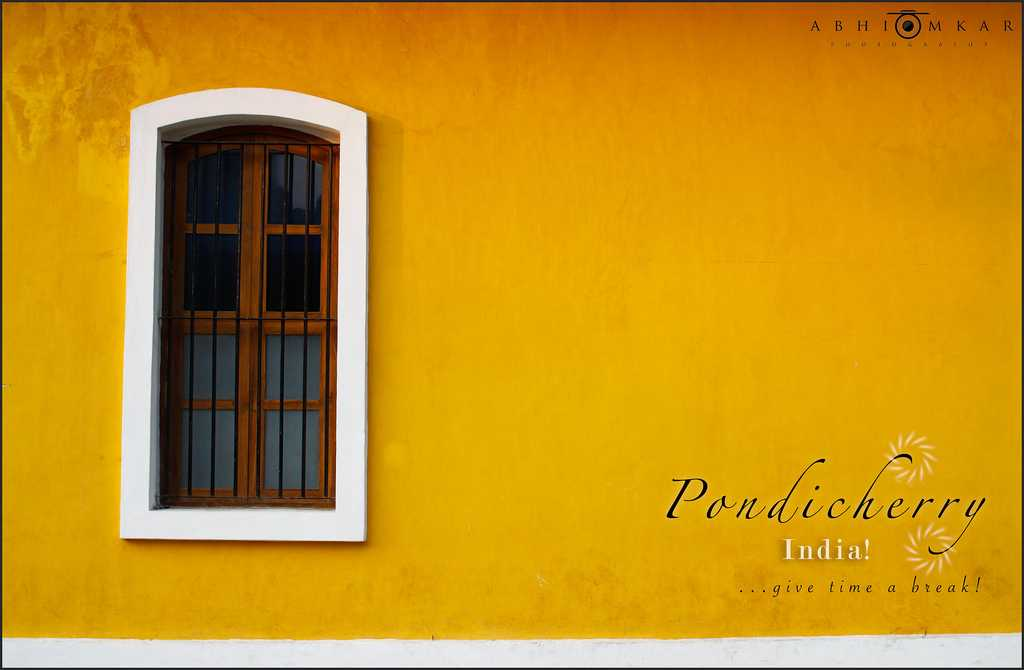 Pondicherry: Puducherry yellow images