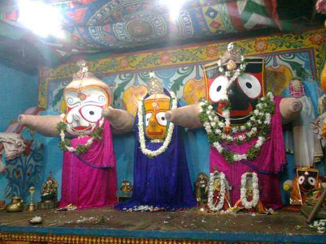 Idols of Lord Jagannath,  Rath Yatra 2015