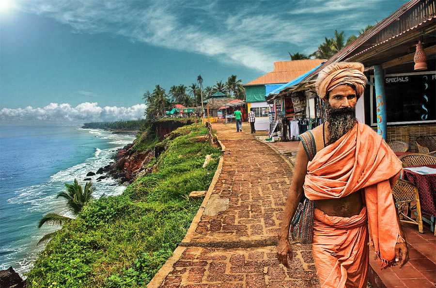 Varkala  visit in October best place