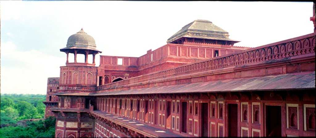 Agra Fort, world heritage site in india