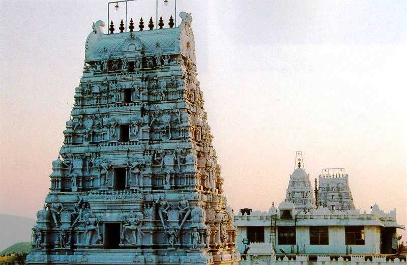 Annavaram Temple Gopuram (Credits: Source)