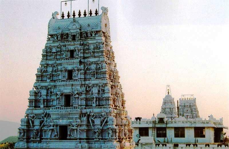 Annavaram Temple Gopuram (Credits: Source)