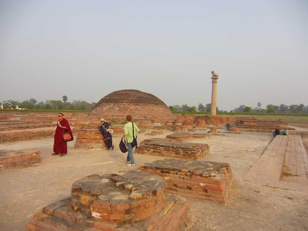 Vaishali, Buddhist places in India