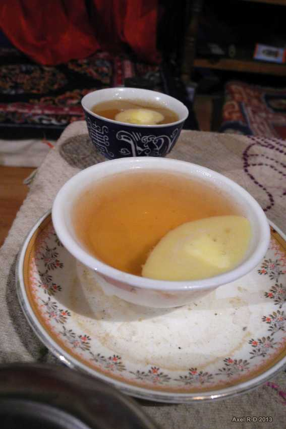 Butter Tea, Kashmiri food