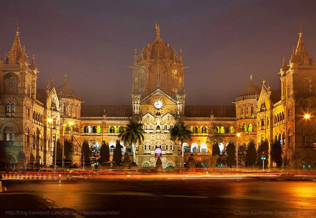 Chhatrapati Shivaji Terminus, Mumbai, world heritage sites in india