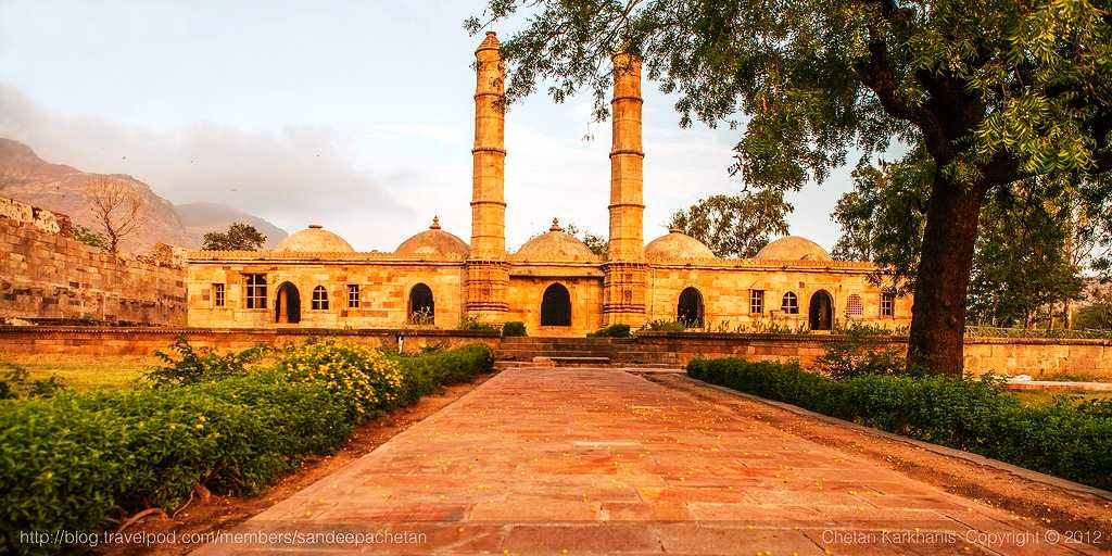 Champaner-Pavagadh Archaeological Park, world heritage site in india