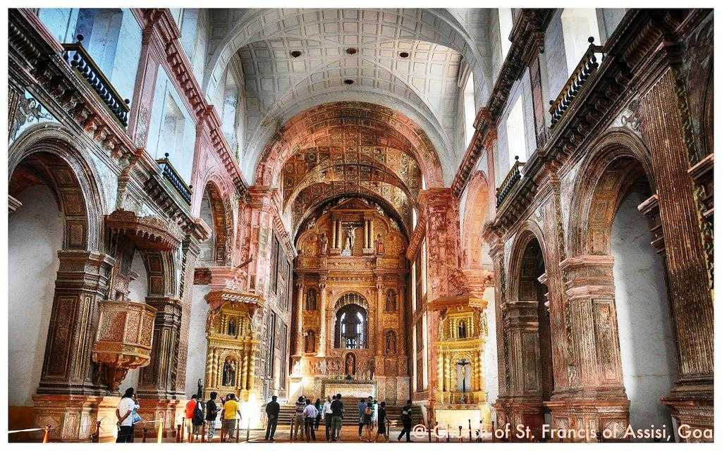 Churches and Convents of Goa, world heritage site in india