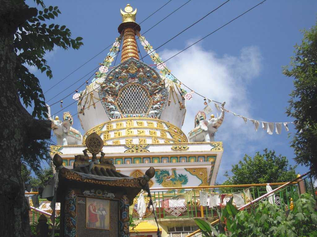Dharamsala, Buddhist sites in India