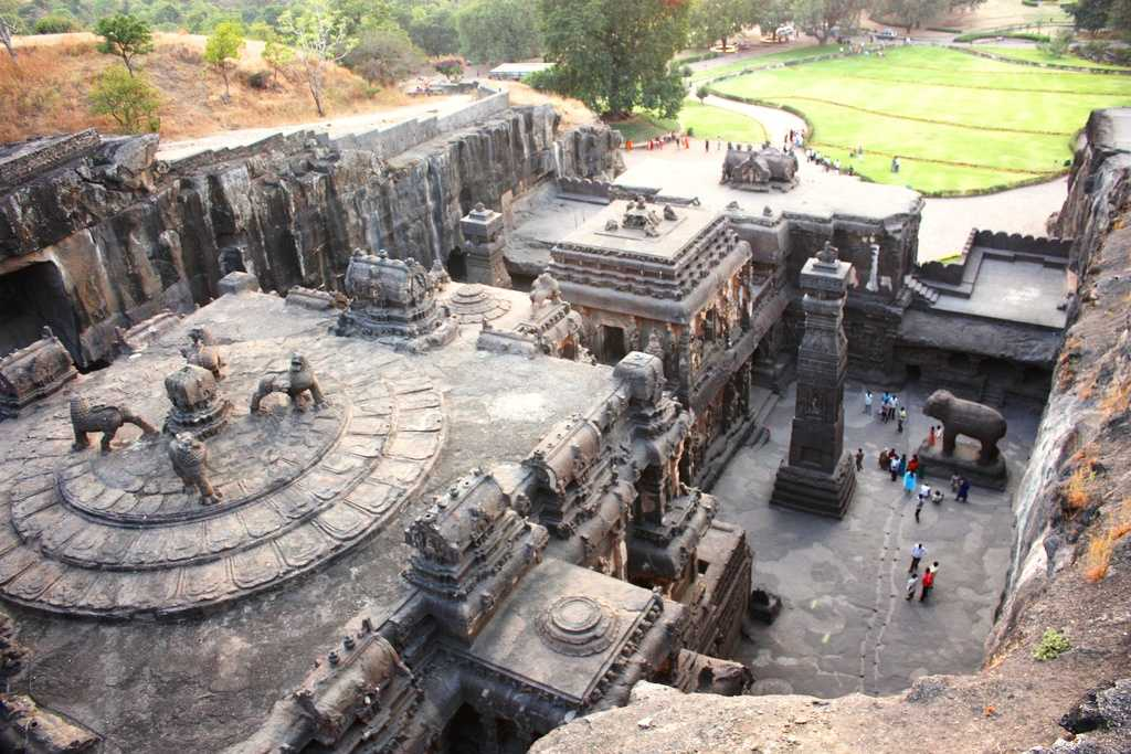 Ellora Caves- world heritage sites in India