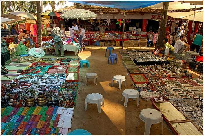 Flea Market at Anjuna Beach - Shop all you can (Picture credits: Source)