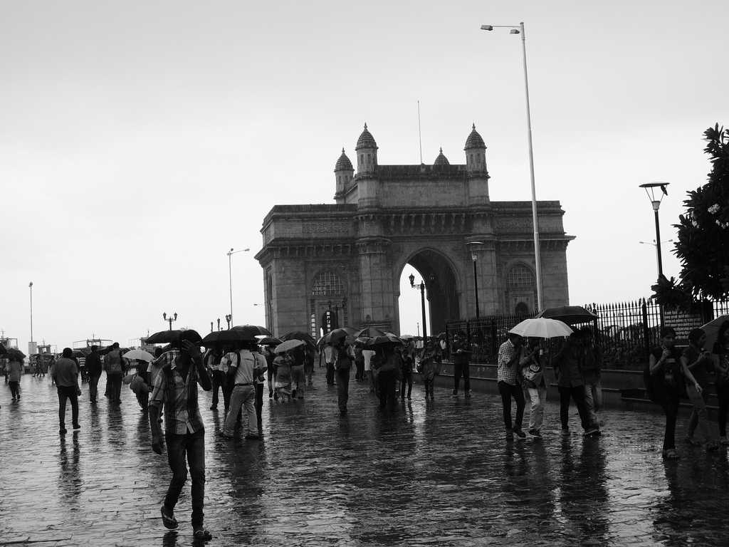 Gateway of India, places to visit in Mumbai during monsoon