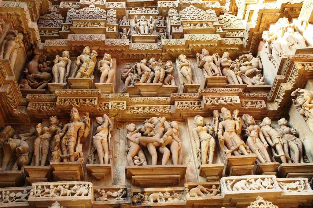 Khajuraho Group of Monuments. world heritage sites in india