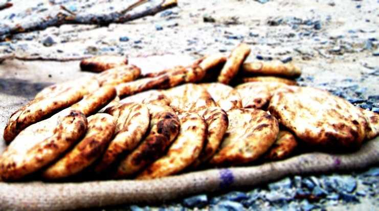 Khambir,  Ladakhi Kashmiri food