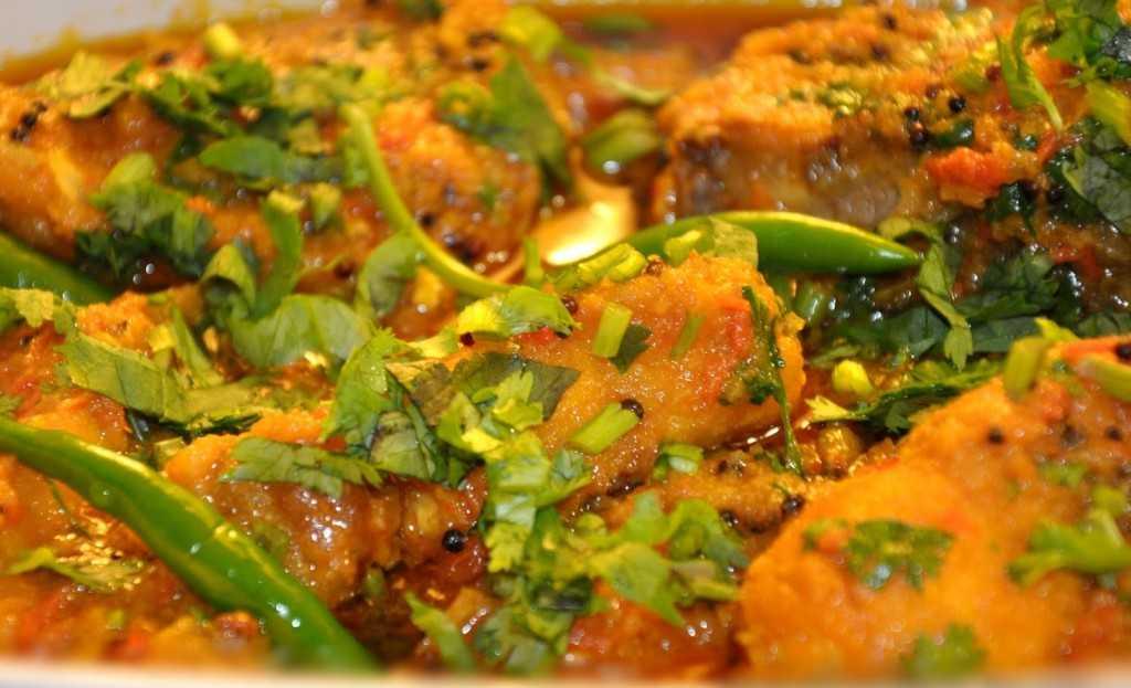 Tenga and rice from Assam.