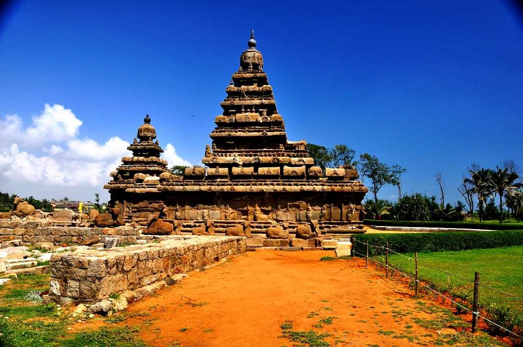 The Group of Monuments at Mahabalipuram, world heritage site in india