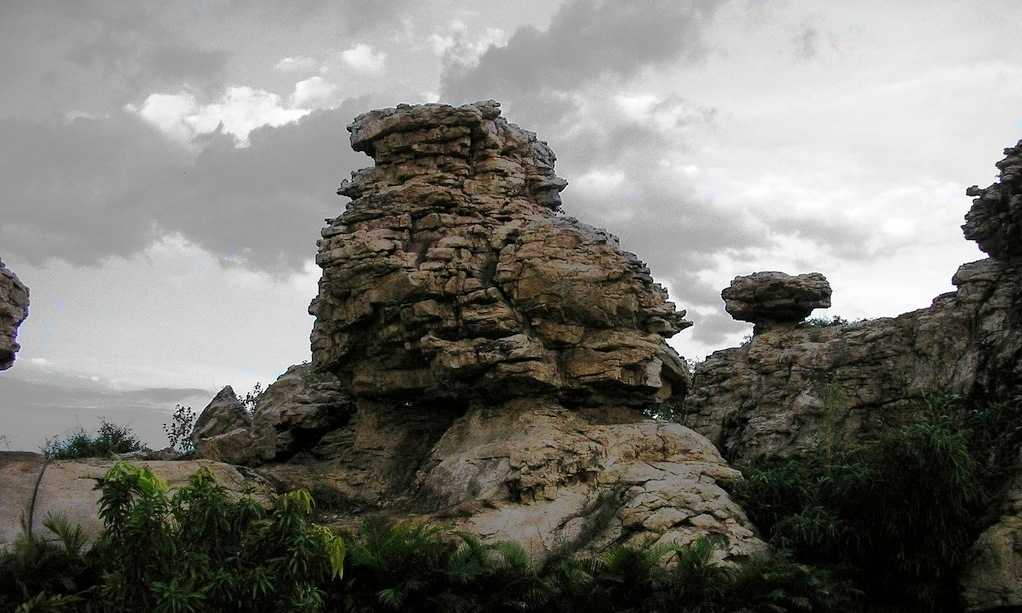 Orvakal Rock Garden, Kurnool (Credits: Source)