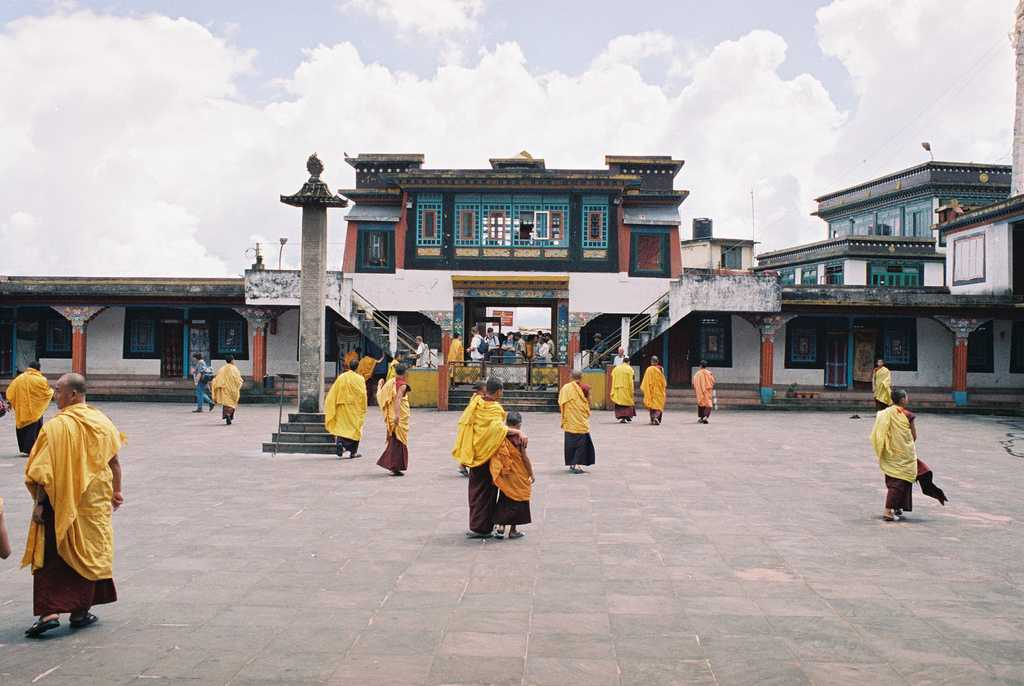 Rumtek Monastery, Buddhist places in India