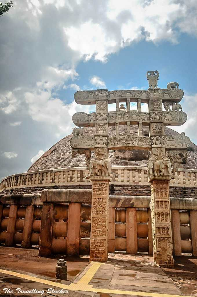 Buddhist Stupas in Sanchi, Buddhist sites in India