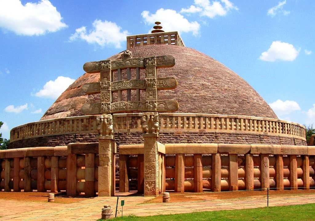 Buddhist Monuments at Sanchi, world heritage sites in India