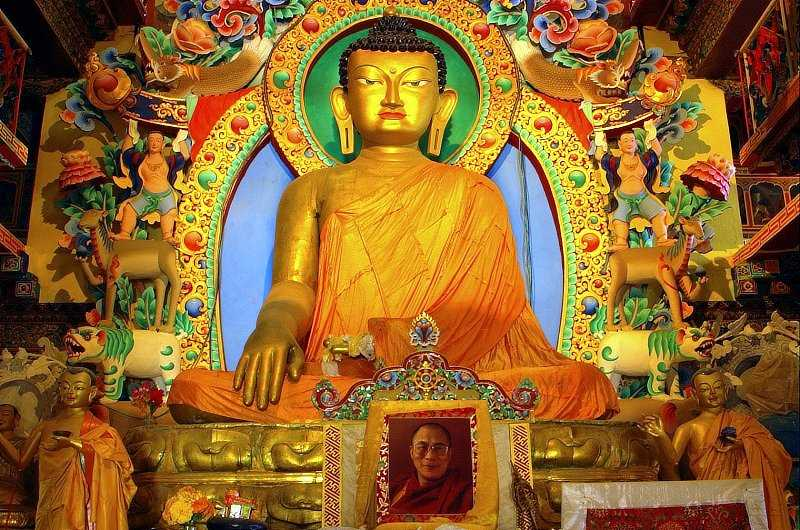 Tawang monastery, Buddhist places in India
