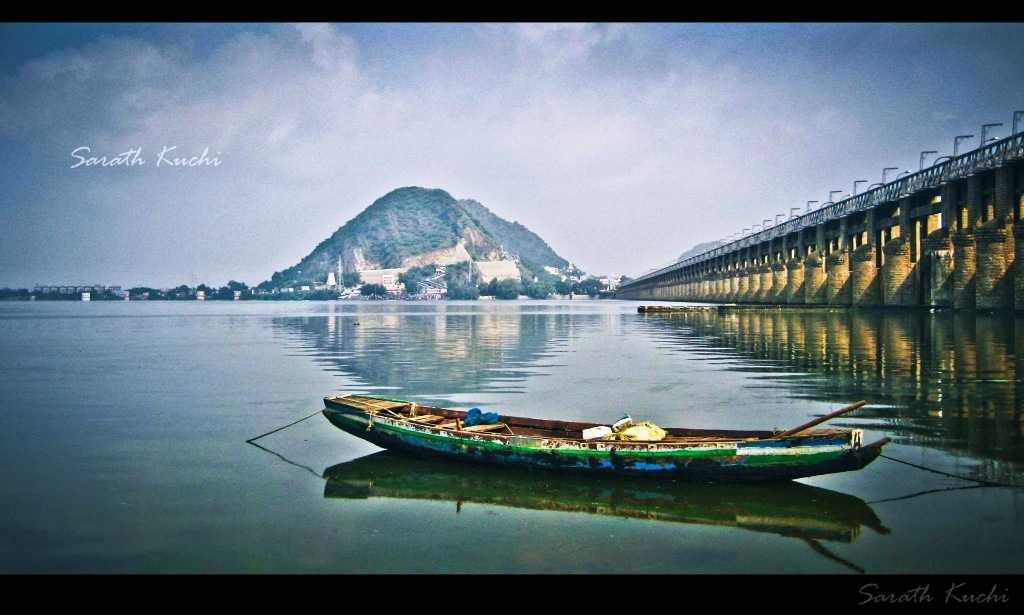 Krishna River, Vijayawada (Credits: Source)