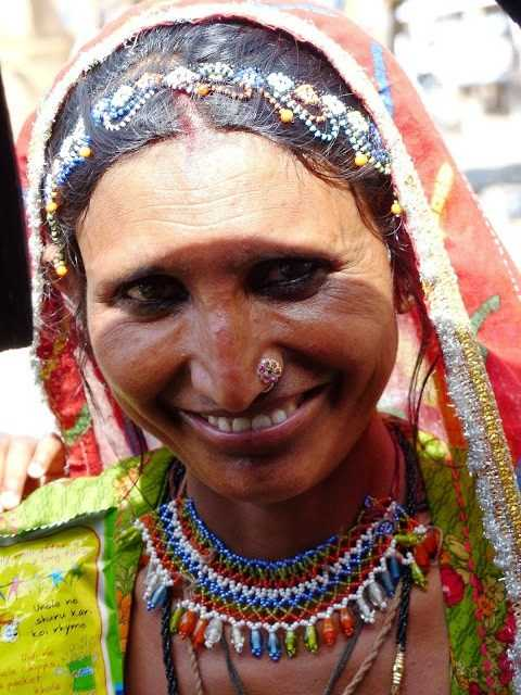 That smile on Rajasthani women - colourful and cheerful