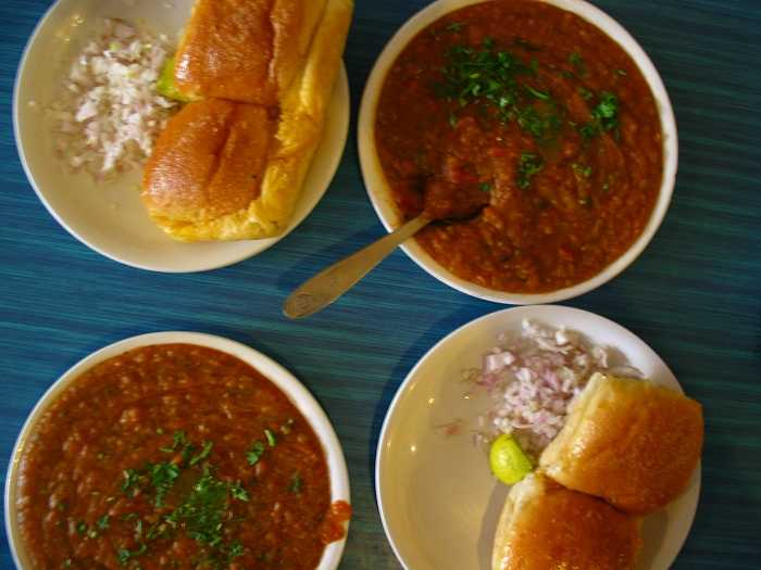 Pav Bhaji, Street Food of Kolkata