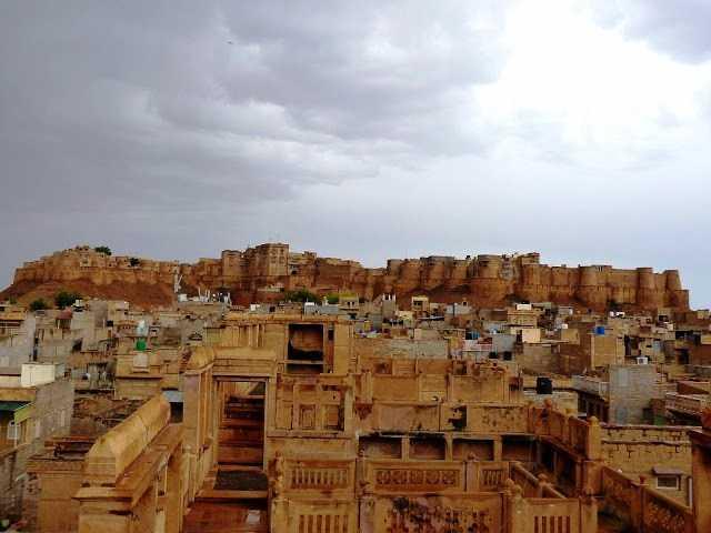 Majestic Golden Fort of Jaisalmer