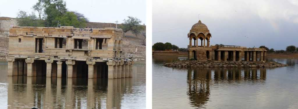 The Lake in Jaisalmer