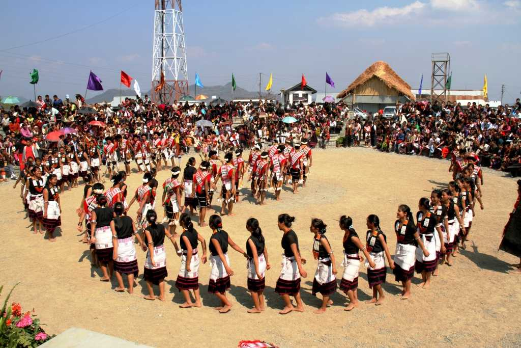 Angami tribal dance, Diphu